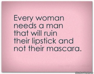 Ruin Your Lipstick Not Your Mascara