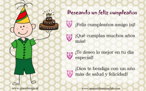 How to write and say happy birthday in Spanish (conversations ...
