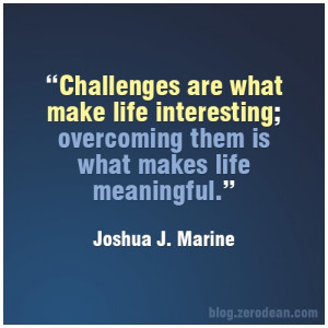 Overcoming Life Challenges Quotes