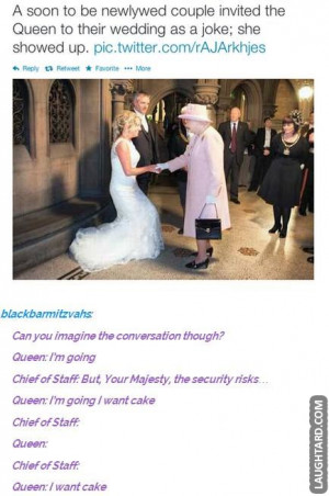 soon to be newlywed couple invited the Queen to their wedding as a ...