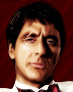 Tony Montana Quotes Tumblr Tony montana monogram kids