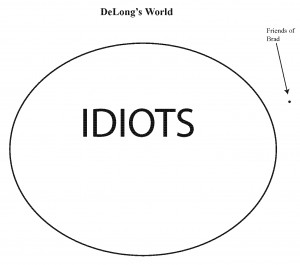 idiot set. There are also genuine crackpots in the small