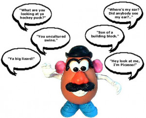 Toy Story Mr Potato Head Quotes