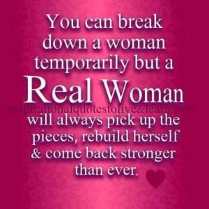 Woman attitude