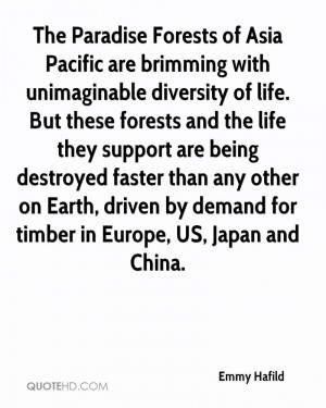 The Paradise Forests of Asia Pacific are brimming with unimaginable ...