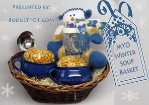 Winter Soup Basket idea