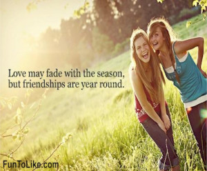 Quotes About Friendships Fading Friendship doesn't fade