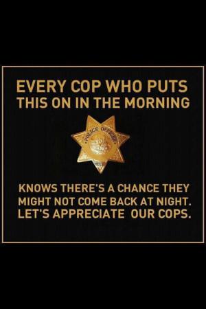 Appreciate our cops :)