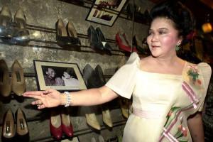 EmmasBluebella I would love Imelda Marcos's wardrobe, just think of ...