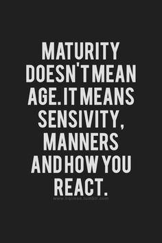 ... Quotes, True, Professional Quotes, Quotes Mean People, Immature Quotes