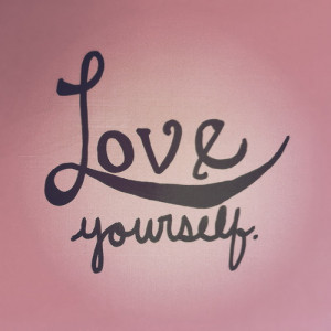 love, pink, quote