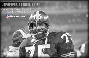 Joe Greene: A Football Life – Friday at 9:00 PM ET