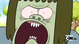 Regular Show Pissed-Off Muscle Man