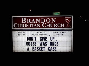 Funny Church Signs Signs sayings stupid church