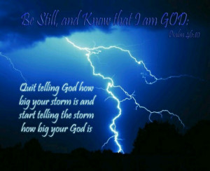 Be Still and Know That I am God #quotes