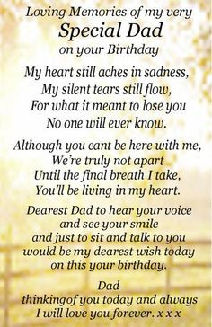 Remembering Deceased Father's Birthday   Happy Birthday Dad in heaven ...