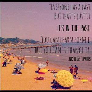 Safe Haven, Nicholas Sparks quote