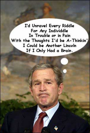 george bush is funny video BLOOPERS!