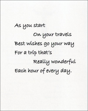 View Safe Travel Verse