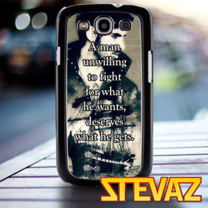 TM 977 Once Upon a Time Captain Hook quotes Case for iPhone 4/4s ...