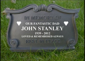 Funny Tombstones Epitaphs Picture