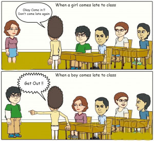 Related Pictures gender discrimination on facebook funny pictures