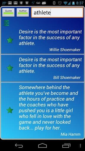 Athletes Quotes Pro Screenshot 4