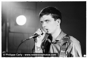 Philippe Carly, Ian Curtis at Plan K , 16 October 1979