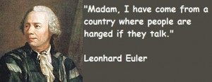 Leonhard eular famous quotes 2