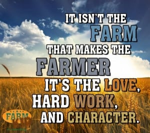 The Love, Hard Work, and Character