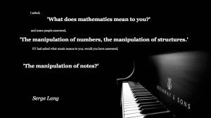 Mathematics Quote Problem