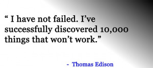 not failed famous quote share this famous quote on facebook