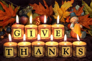 Thanksgiving candle centerpiece ideas