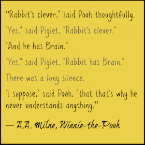 Winnie the Pooh Wisdom. DearKidLoveMom.com