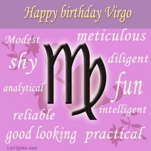 Happy Birthday, Virgo Horoscopes 2014, Fun Inspiration, Birthday Virgo ...