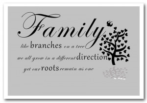 text quotes print family quote family like branches on a tree grey ...