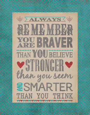 Winnie the Pooh Stronger than You Think
