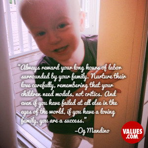 An inspiring quote about #family from www.values.com #dailyquote # ...