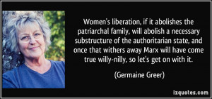 More Germaine Greer Quotes