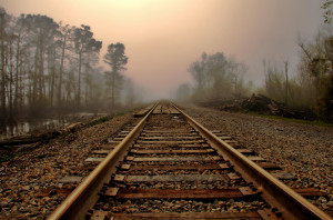 Home - Wallpapers / Photographs - Other - Railway in the fog