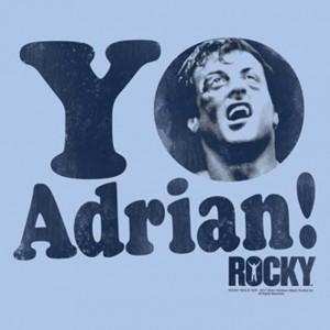 Home Movie T Shirts Rocky Yo Adrian Mens Tee Shirt