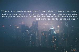 city, love, night, quote, sad, tyopgraphy