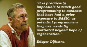 Edsger dijkstra famous quotes 1
