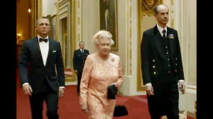Queen Elizabeth, 2012 London Olympics, James Bond, Daniel Craig