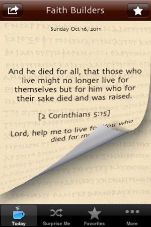 ... Bible Verses, Quotes and Hymns for Christian Spiritual Growth iPhone