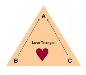 Whether you love them or hate them, love triangles in books are likely ...