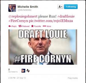 Louie Gohmert vs. John Cornyn?