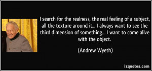 More Andrew Wyeth Quotes