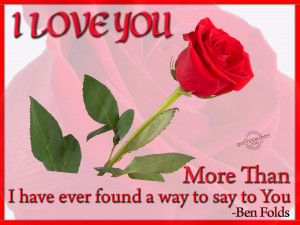 love you more than i have ever found a way to say to you ben folds