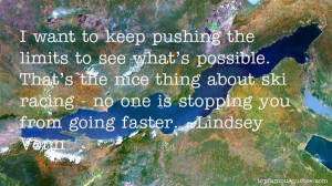 Favorite Lindsey Vonn Quotes